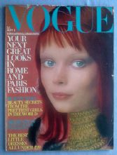 Vogue Magazine - 1970 - September 1st